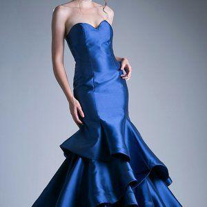 Strapless Mermaid Bridesmaid Long Dress CD13493